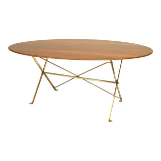 1950 Italian Dining Table, by Azucena For Sale