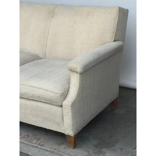 Modern 1950s Vintage French Sofa For Sale - Image 3 of 7