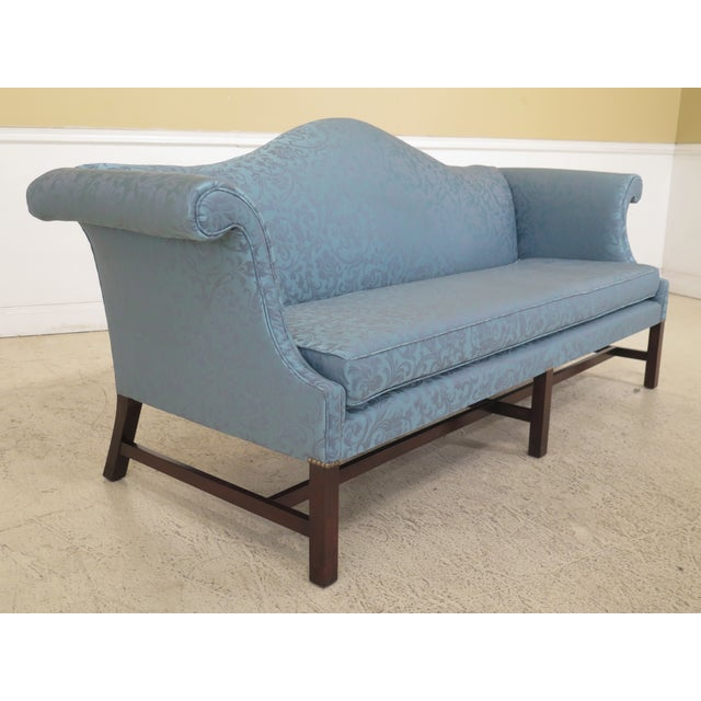 Mahogany 1970s Vintage Kittinger Colonial Williamsburg Mahogany Sofa For Sale - Image 7 of 12