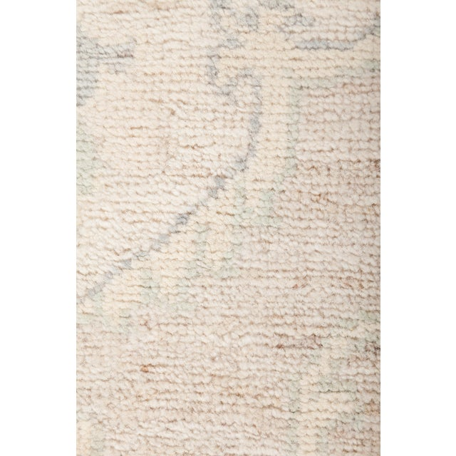 "Oushak Hand Knotted Area Rug - 4' 0"" x 5' 10"" - Image 3 of 4"