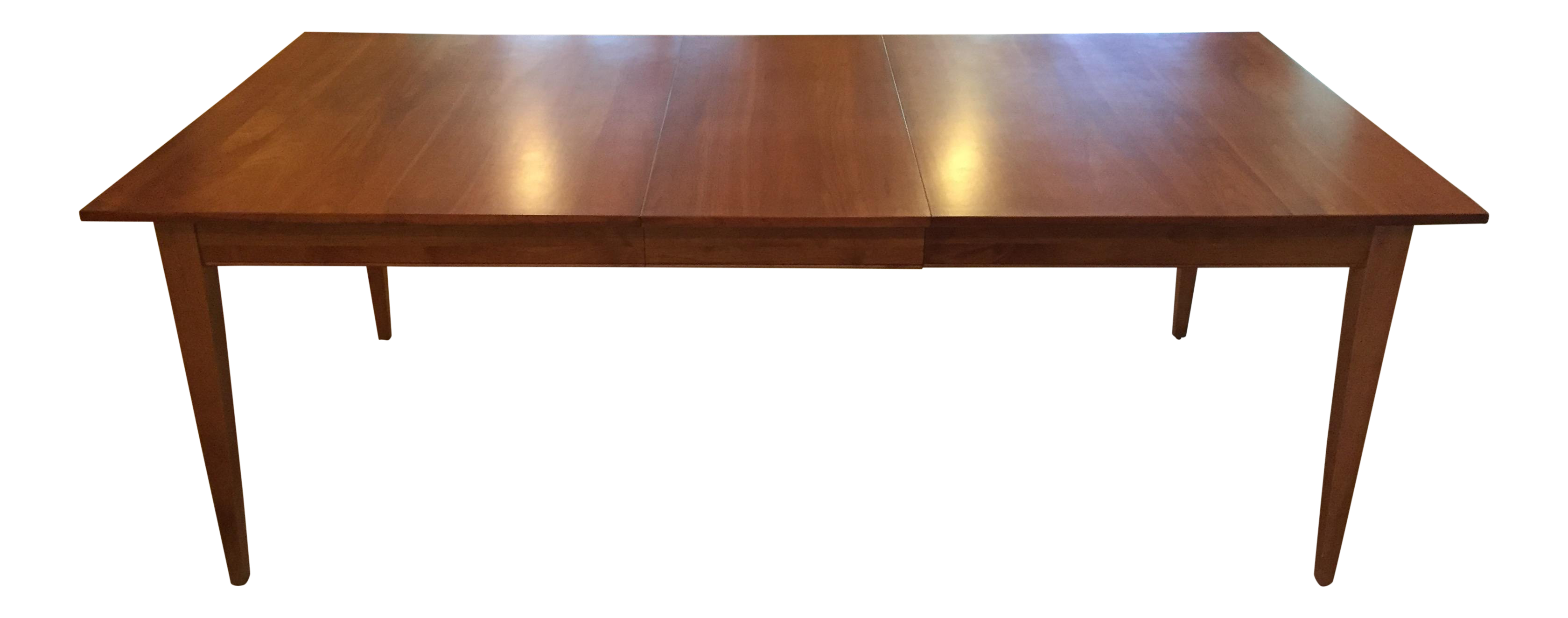 Ethan Allen New Impressions Dining Table With 2 Leaves Chairish