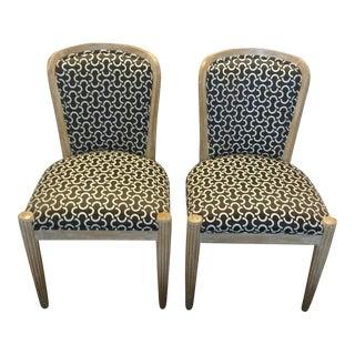 J Robert Scott Paris Side Chairs - a Pair