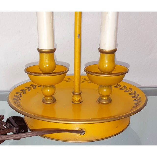 Golden Tole Desk Lamp - Image 6 of 6