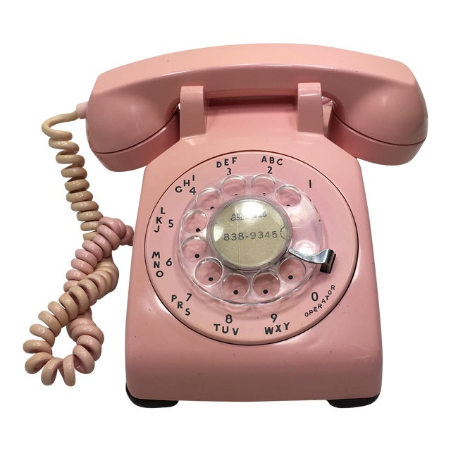 Pink 1961 Date Matched Telephone - Image 1 of 10