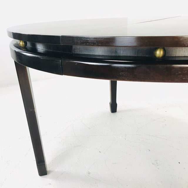 Wood Widdicomb Dining Table For Sale - Image 7 of 9