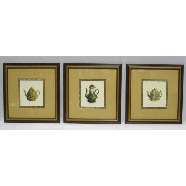 Sarreid LTD Framed Drawings of Vintage Pitchers - Set of 3 - Image 2 of 6