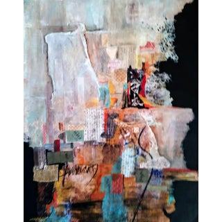 """Barbara Yon """"Asian Notes"""" Contemporary Abstract Painting For Sale"""
