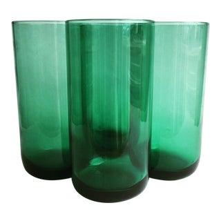 Metropolitan Cooler Green Glasses - Set of 4 For Sale