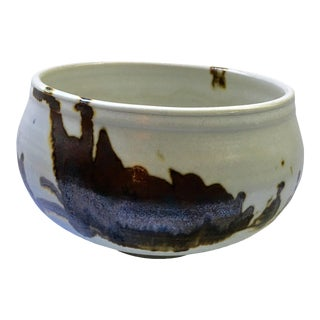Vivika & Otto Pottery Bowl, Signed For Sale