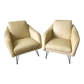 1950s Italian Mid Century Modern Chairs - a Pair For Sale