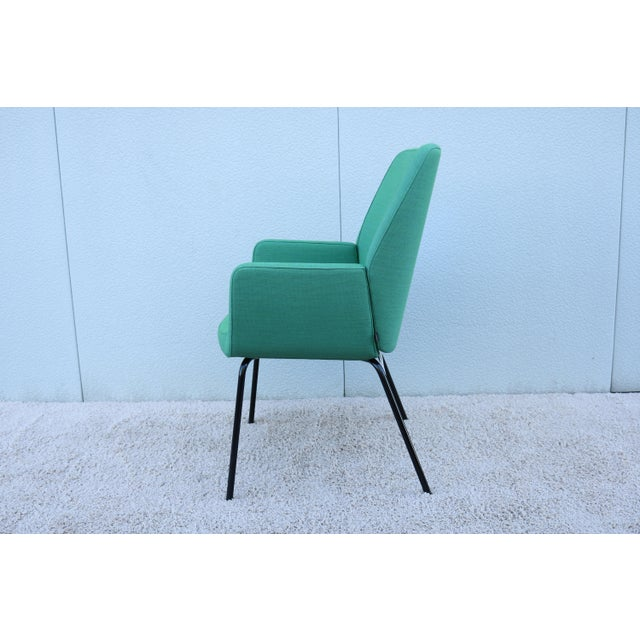 2010s Modern Brian Kane for Coalesse and Steelcase Bindu Green Guest Chair For Sale - Image 5 of 13
