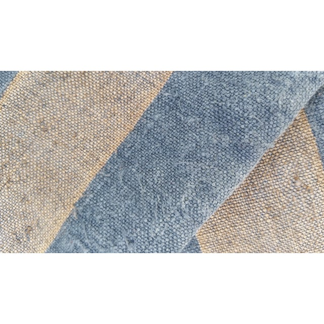 French Blue & Gray Grain Sack - Image 4 of 4