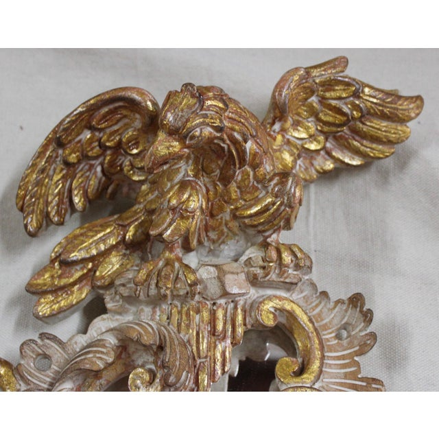 20th Century Rococo Gold Sconces- a Pair For Sale - Image 10 of 12