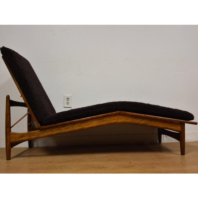 Chaise Lounge Chair by Kofod Larsen for Selig For Sale - Image 10 of 10