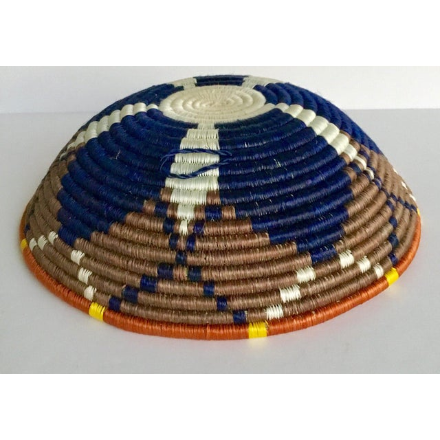 African Boho Woven Basket - Image 5 of 8