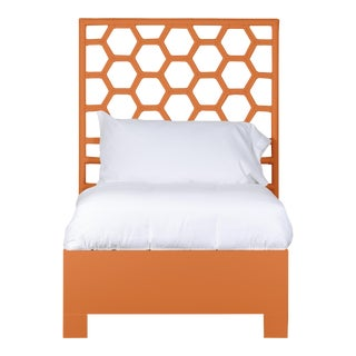 Honeycomb Bed Twin - Orange For Sale