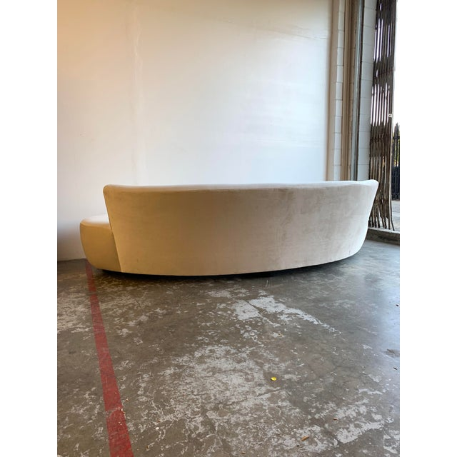 Mid Century Style Cloud Sofa For Sale - Image 10 of 13