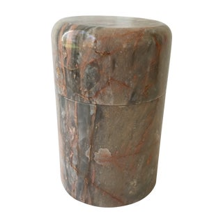 Marble Lidded Container For Sale