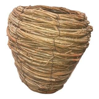 Organic Handmade Twig Basket
