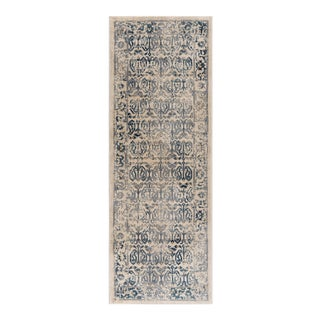 Journey Sylvia Traditional Persian Cream Runner Rug - 2' x 8'