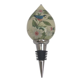 Vintage Ne'Qwa Art Design Wine Stopper For Sale