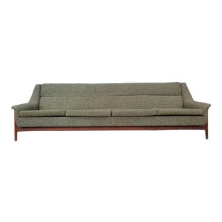 Adrian Pearsall Style Mid- Century Sofa For Sale