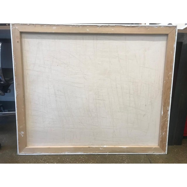 1990s Arie Eckstein Contemporary Oil Painting For Sale - Image 9 of 10