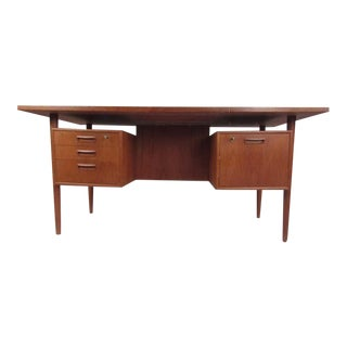 Danish Modern Writing Desk by h.p. Hansen For Sale