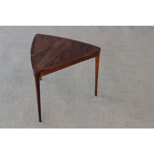 Mid-Century Modern Danish Rosewood Table, 1960s For Sale - Image 3 of 10