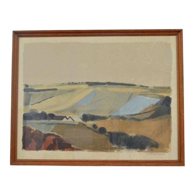 Landscape by Svend Engelund, '57 For Sale