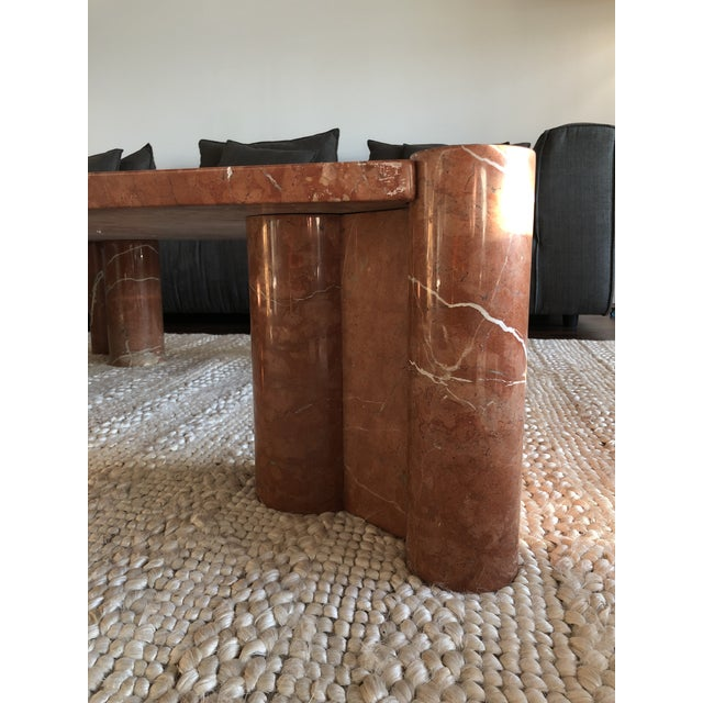 Brutalist Gae Aulenti for Knoll Jumbo Table For Sale In Los Angeles - Image 6 of 7