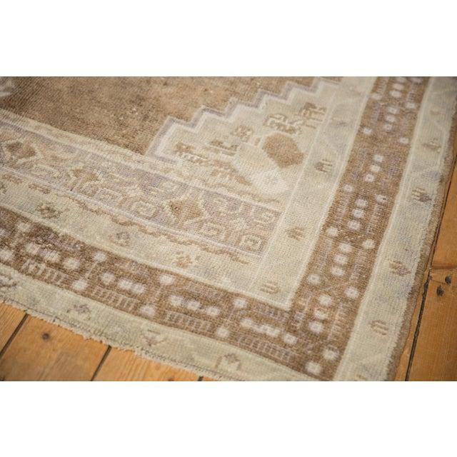 "Textile Vintage Distressed Oushak Carpet - 5'7"" X 8'3"" For Sale - Image 7 of 11"