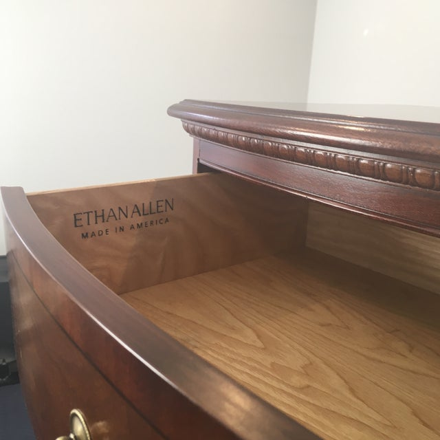 Ethan Allen 18th Century Mahogany 7 Drawer Lingerie Chest For Sale In New York - Image 6 of 13