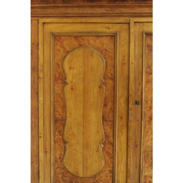 17th Century Grand Antique 17th Century Tuscan Armoire For Sale - Image 5 of 13