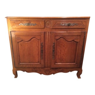 Antique 19th Century French Cherrywood Buffet