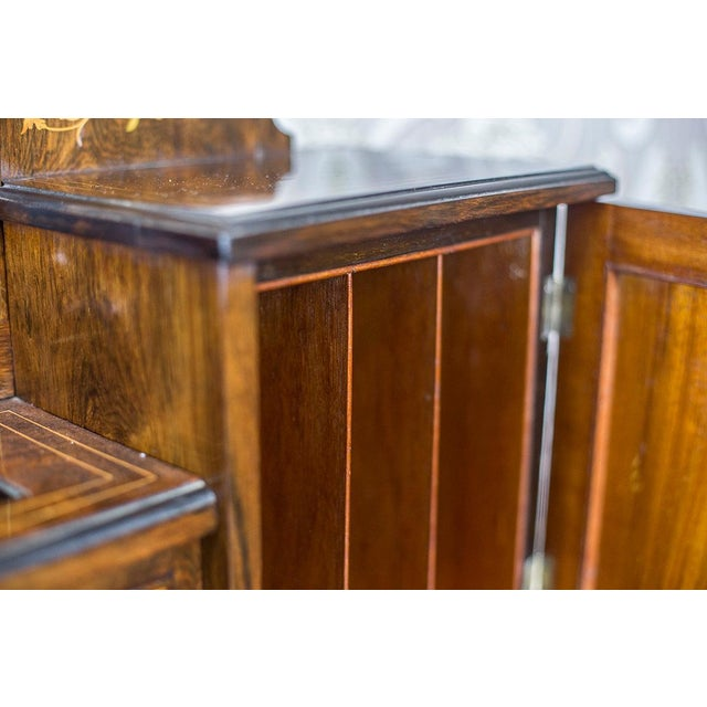 19th Century Lady's Desk Veneered with Rosewood For Sale - Image 6 of 13