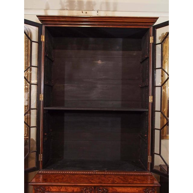 Antique English Bookcase For Sale - Image 4 of 10