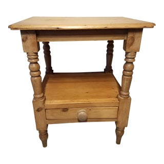 Antique PineTable From Northeast England For Sale