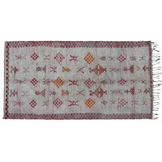 Moroccan Rug- 8'5'' X 4'5'' For Sale