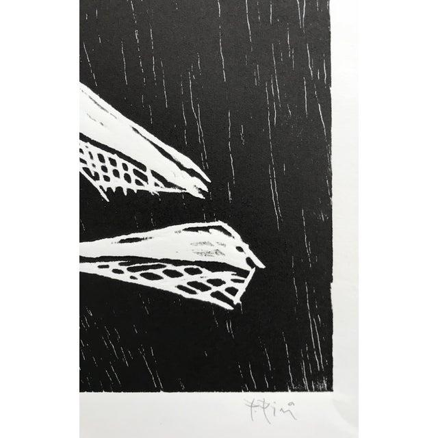 Pablo Pino Hombre Povera Linocut Print For Sale - Image 4 of 8