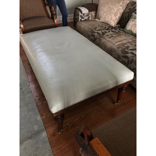 1990s Vintage Ottoman Coffee Table For Sale In Philadelphia - Image 6 of 11