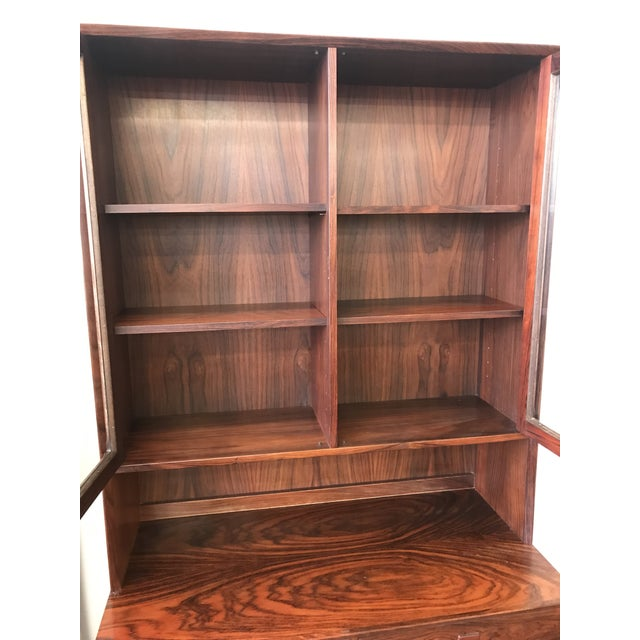 Cinnamon 1960s Rosewood Cabinet Designed by Eric Brouer For Sale - Image 8 of 9