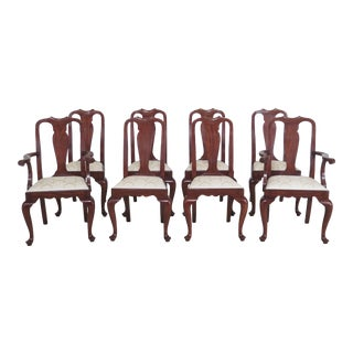 Henkel Harris Model 109 Cherry Dining Room Chairs - Set of 8 For Sale