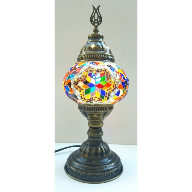 Handmade Mosaic Table Lamp - Image 2 of 5
