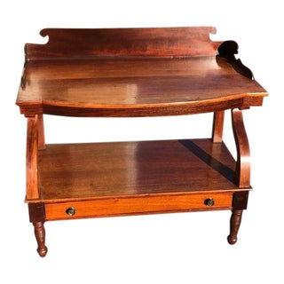 Early 19th Century Empire Mahogany Serving Table For Sale