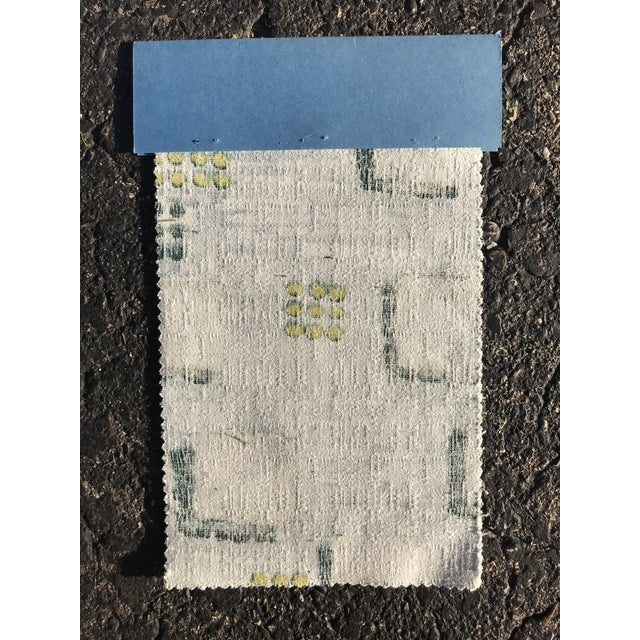 1954 Raymond Loewy Textile Swatch For Sale In Milwaukee - Image 6 of 7
