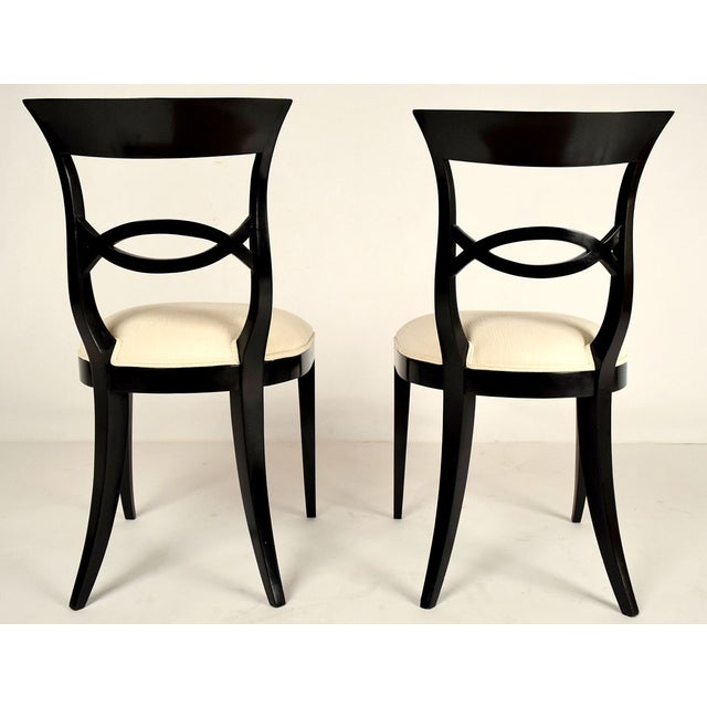 Regency-Style Dining Chairs - Set of 6 - Image 5 of 9