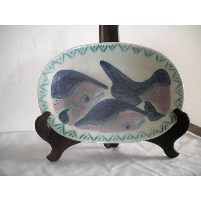Artisan Salmon Platter by Toni Maury - Image 3 of 4