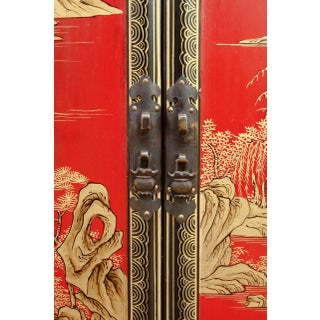 Chinese Export Lacquered Cabinet or Chest Preview