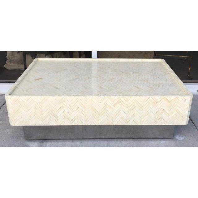Tessellated Bone Coffee Table - Image 3 of 7
